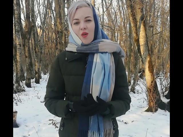 Изображение предпросмотра прочтения – АнжелаПопова читает произведение «Заметался пожар голубой» С.А.Есенина