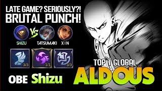 Late Game Monster Aldous by Shizu vs RRQ X I N ft RRQ Tatsumaki ~ Mobile Legends