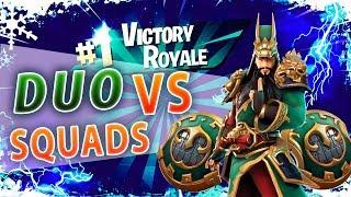 💢¡CHALLENGE! DUO VS SQUADS💢 FortNite Battle Royale