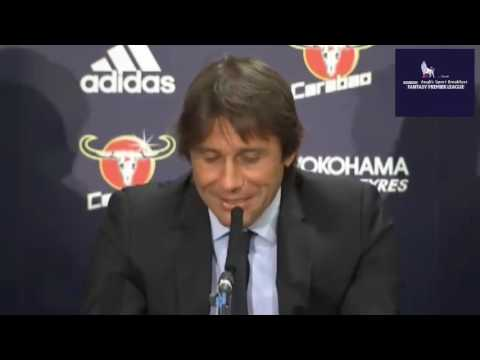 Antonio Conte's First Chelsea Manager Press Conference at Stamford Bridge