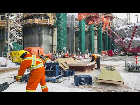Building the Muskrat Falls Generating Facility 2014-2017