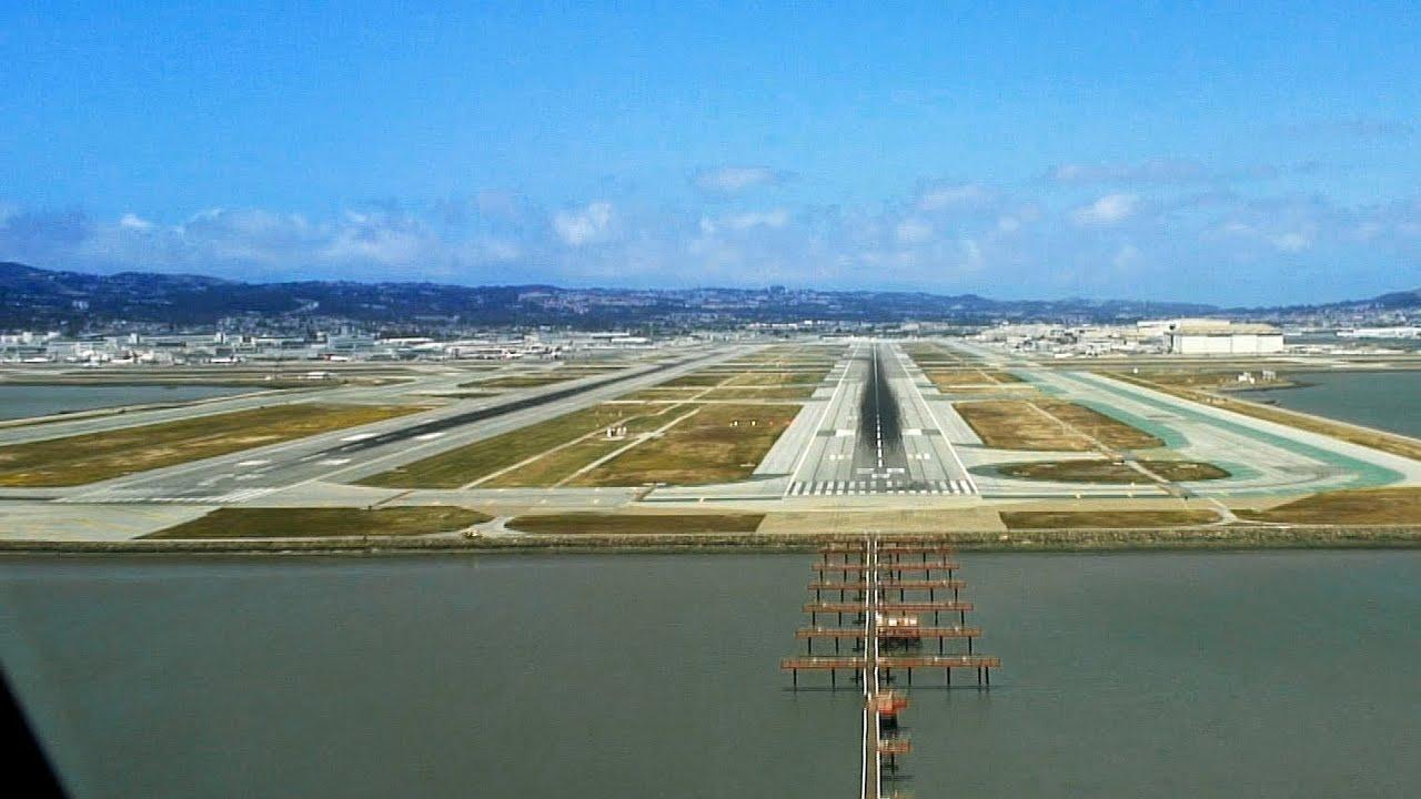PilotsEYE.tv - A380 Landing KSFO San Francisco
