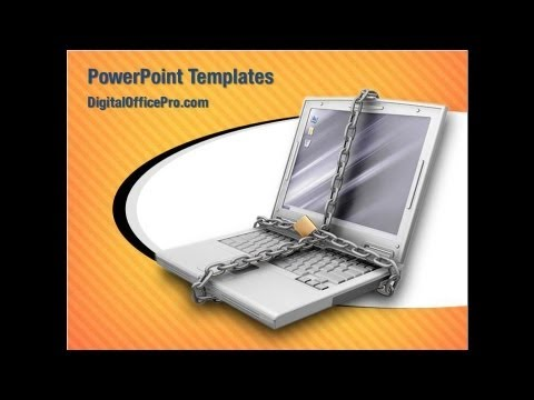 information security powerpoint template backgrounds