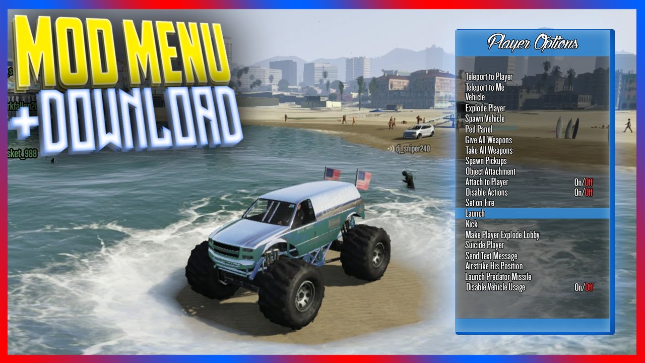 [PS3/1 26/1 27] GTA 5 Mod Menu - SERENDIPITY v3 1 + DOWNLOAD (GTA 5 MODS)