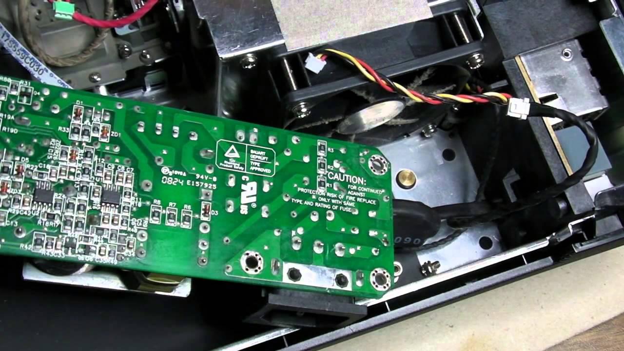 Acer X1160 Dlp Beamer Teardown Zerlegung Part 1 Of 2 Youtube