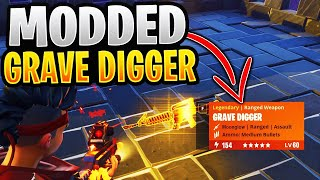 Maniac Scammer Has *NEW* Modded Grave Digger! (Scammer Gets Scammed) Fortnite Save The World