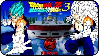 DRAGON BALL Z BUDOKAI TENKAICHI 3 LATINO GAMEPLAY GOGETTO SSJGSSJ VS VEGOTTA SSJ5