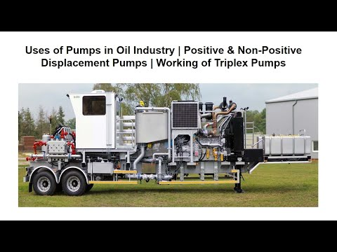 Overview of Commonly Used Pumps in Oil Industry-Part 1