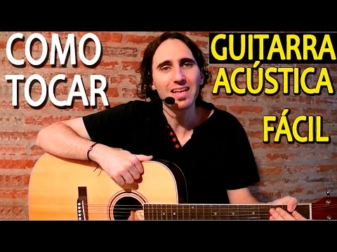 How To Play Acoustic Guitar: First Lesson | Very Easy For Beginners TCDG