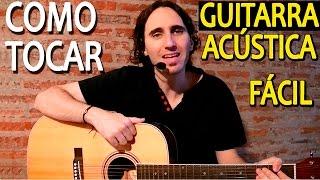 Como Aprender a Tocar Guitarra Acústica Para Principiantes / Ejercicios Faciles Mano Derecha TCDG