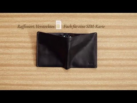 Bellroy Note Sleeve Wallet  slim your wallet stopmotion