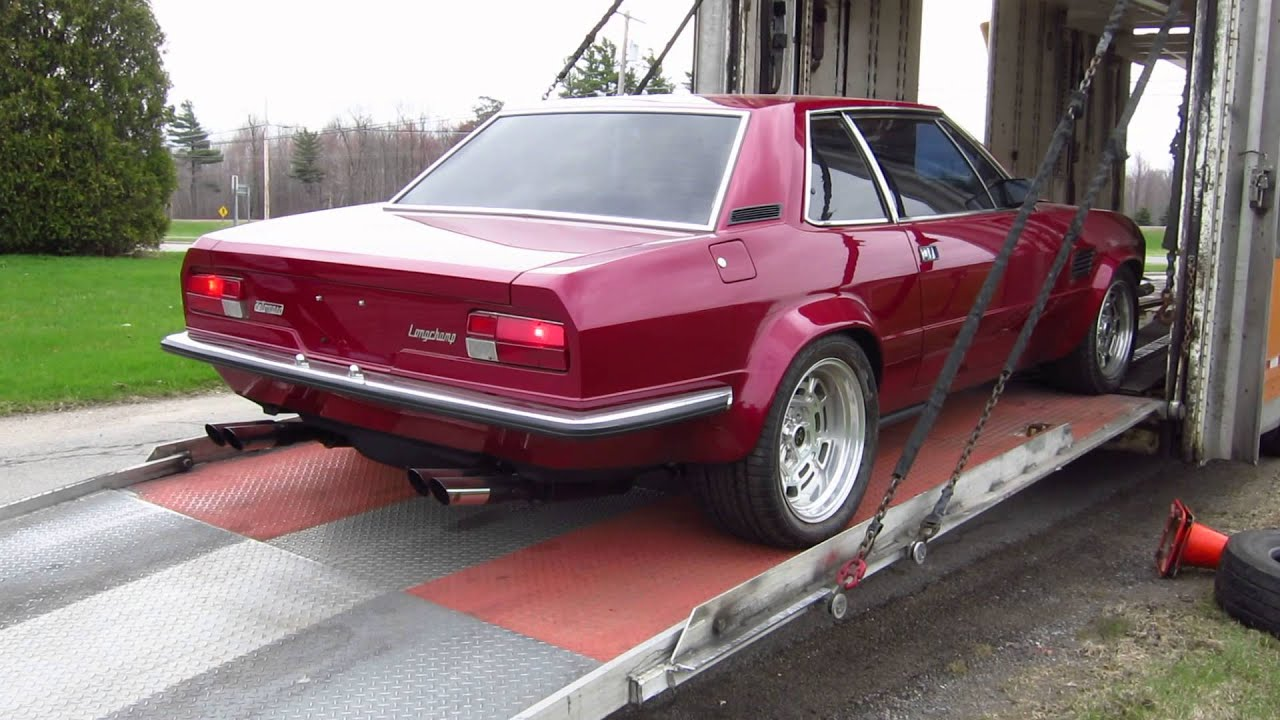 Pantera For Sale >> De Tomaso Longchamp GTS being unloaded - YouTube