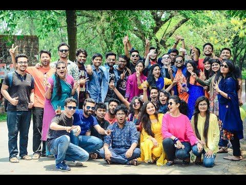 Official Flash Mob Of 43 Batch Of Jahangirnagar University