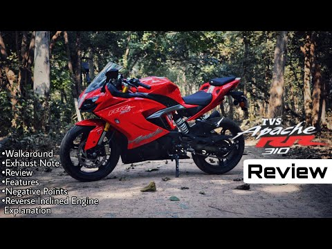 Apache RR 310 Review || Exhaust Note || Walkaround || First bike of Lucknow