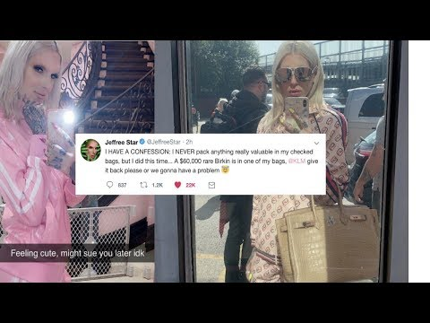Jeffree Star loses $60,000 Birkin bag thumbnail