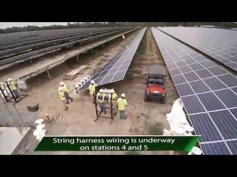 Hazlehurst, GA 20 MW Solar Farm Installation