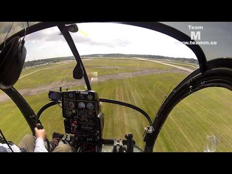 Cockpit video Hughes 269 hkp 5