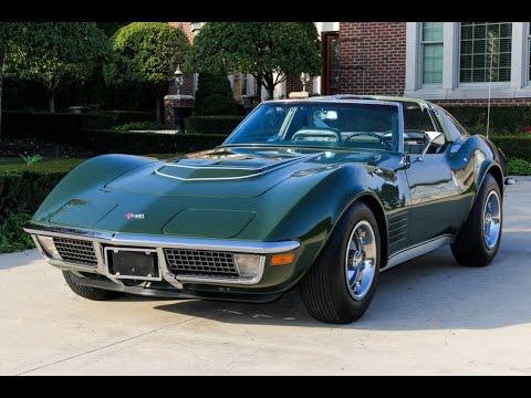 1970 Corvette For Sale >> 1970 Chevrolet Corvette Lt1 For Sale