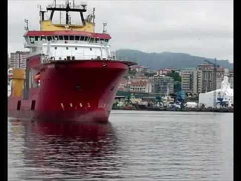 Película del multiproposito Polar Queen saliendo a pruebas 2011.wmv