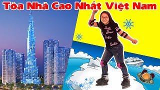 Khám Phá Tòa Nhà Cao Nhất Việt Nam Landmark 81| Chơi Trượt Băng
