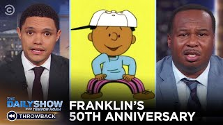 "#TBT to Franklin's 50th ""Peanuts"" Anniversary 