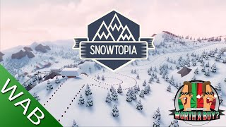 Snowtopia Review - Ski Resort Tycoon (Video Game Video Review)