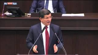 داودأوغلو: نسعى لتعزيز التعاون مع العراق