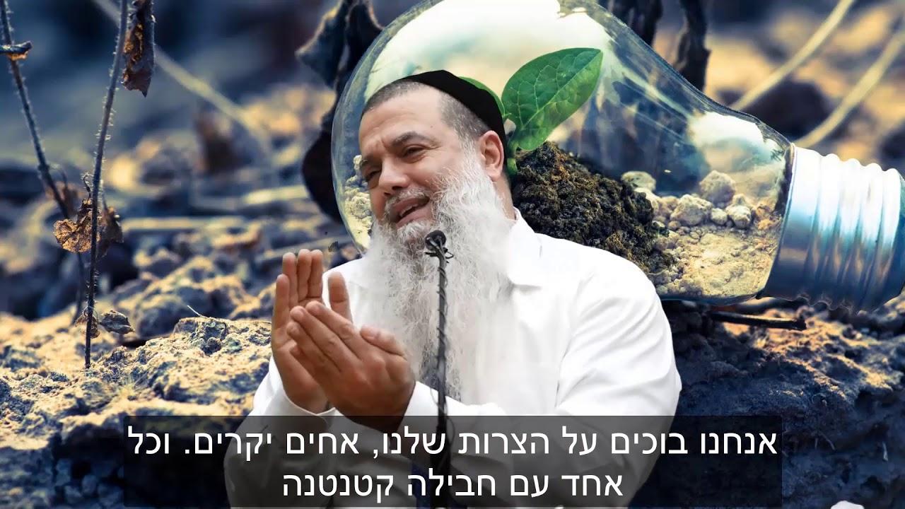 הרב יגאל כהן - קצרים | בורא עולם בוכה איתך בצרה שלך [כתוביות]