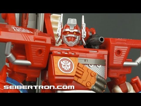 eBay Demonstration: Transformers Robots In Disguise Optimus Prime 2001 131126a