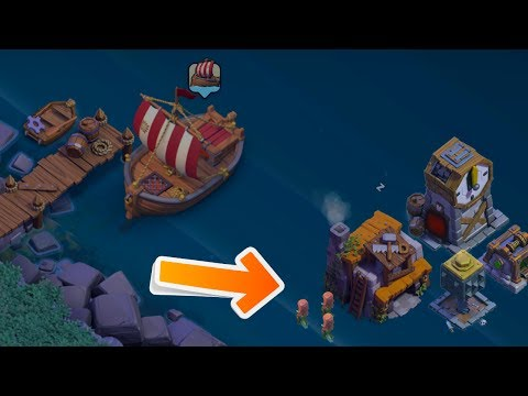 PLACE & SAVE BUILDINGS IN THE WATER GLITCH! Clash of Clans Builders Hall Update Glitch 2017!