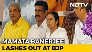 Mamata Banerjee Lashes Out BJP For Tax Notice To Durga Puja Organisers