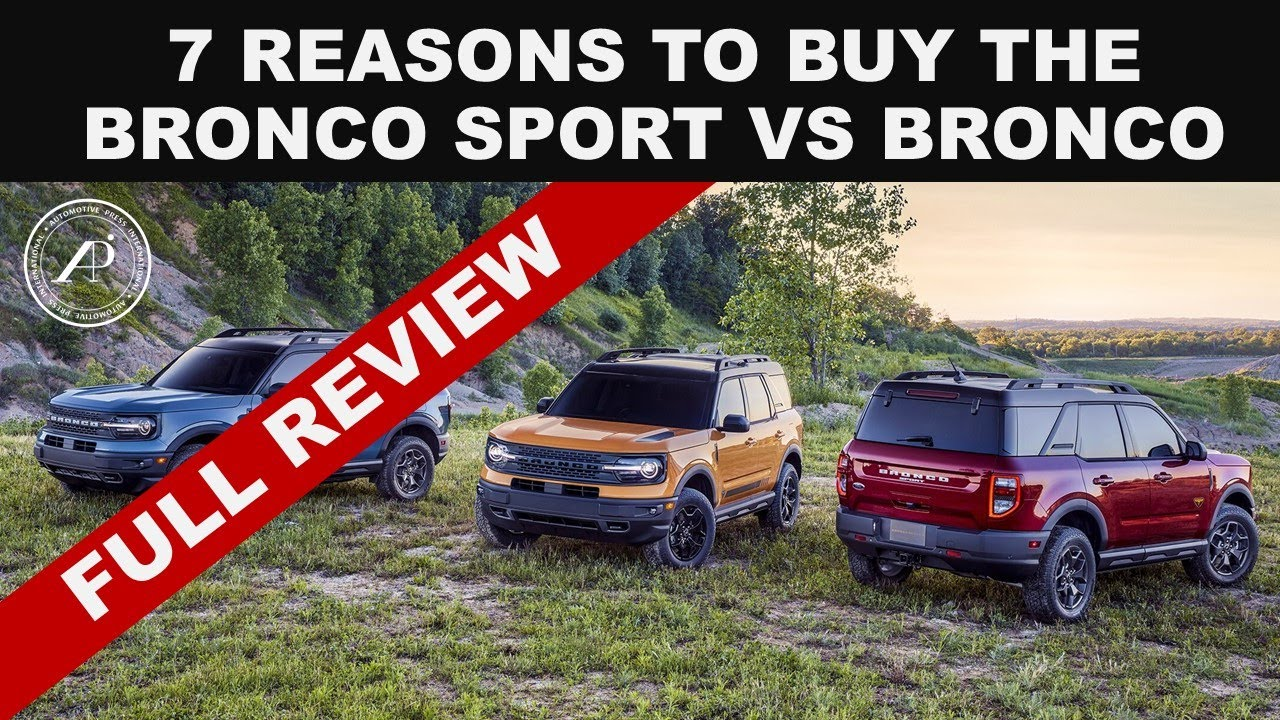 CASearch9+Avatar image7 REASONS TO BUY FORD BRONCO SPORT OVER LARGER BRONCO - Engineer's