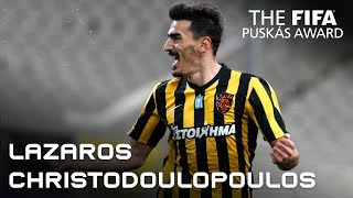 #puskasaward LAZAROS CHRISTODOULOPOULOS GOAL – VOTE NOW!