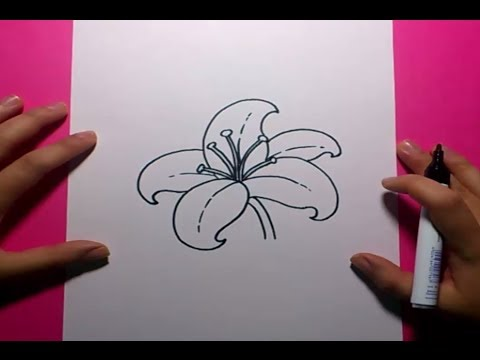 Como Dibujar Una Flor Paso A Paso 9 How To Draw A Flower 9 Youtube