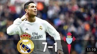 Real Madrid Vs Celta Vigo 7 1 All Goals & Extended Highlights La Liga 05 03 2016 Hd