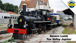 Tua Valley Jupiter Locomotive Test Run