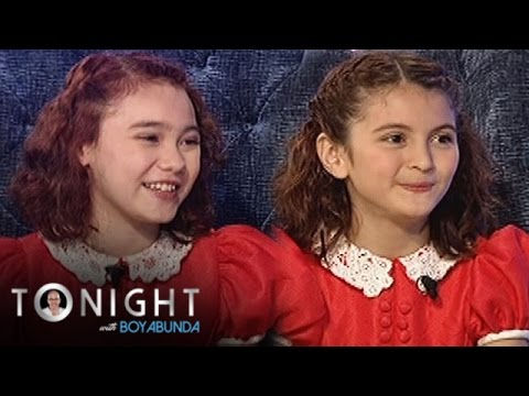 """TWBA: Krystal and Isabeli talk about their audition for """"Annie"""""""