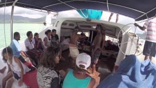 GoPro - Catamaran à Ile Aux Bénitiers