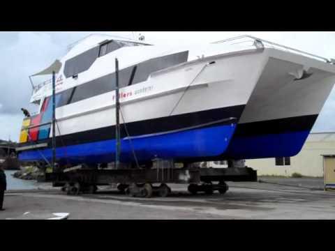 Oceania Marine - vessel launching