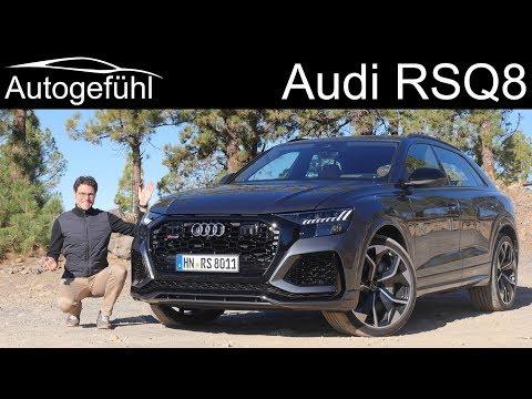 "Audi RSQ8 FULL REVIEW - the ""Audi Lamborghini Urus"" - Autogefühl"