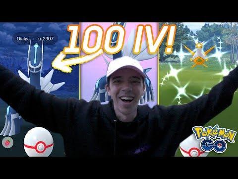 LUCKIEST DAY OF LEGENDARY RAIDS IN POKÉMON GO! (Shiny Latias & Dialga Raid Guide Pokémon GO) thumbnail