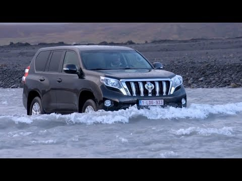 2016 Toyota Land Cruiser Prado Off-Road Driving in Iceland