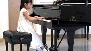 Coco  Ma(7yrs) plays Tchaikovsky - Song of the lark(kids piano)