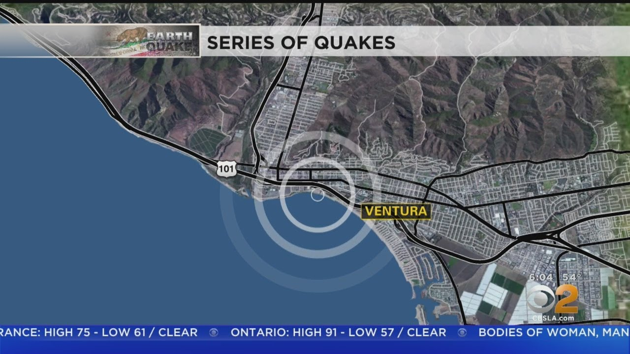 Several Small Quakes Shake Ventura Second Morning In A Row