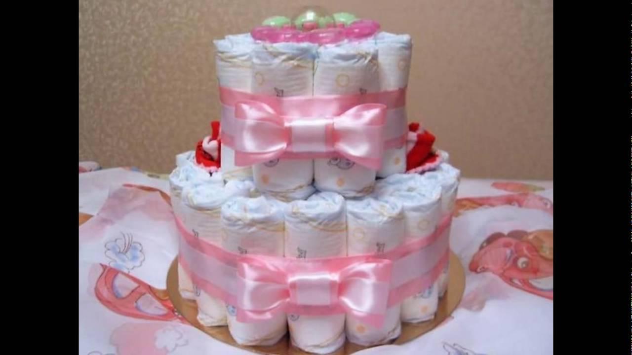 Торт из памперсов своими руками пошагово фото