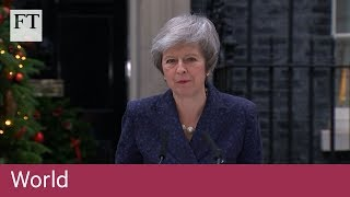 """Theresa May: """"I will contest that vote with everything that I've got."""""""