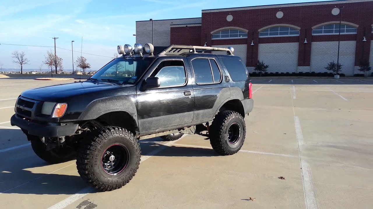 Xterra lifted on 35s - YouTube