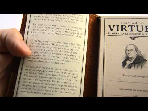 Ben Franklin's Virtues: 13 Week Journal (Art of Manliness) HD