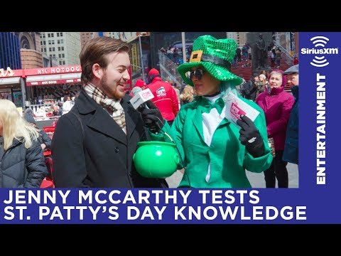 Jenny McCarthy wants YOU to listen to SiriusXM on St. Patricks Day