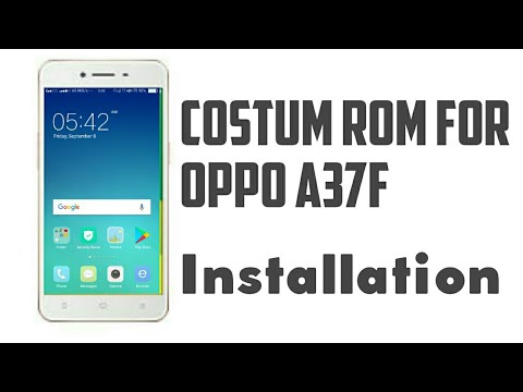 How to install stock modified rom in oppo a37f | Yassuz